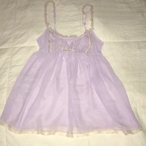 NWOT PINK VICTORIA'S SECRET®️ADORABLE SHEER NIGHTY